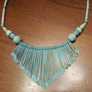 Jewelry - Green Patina Necklace